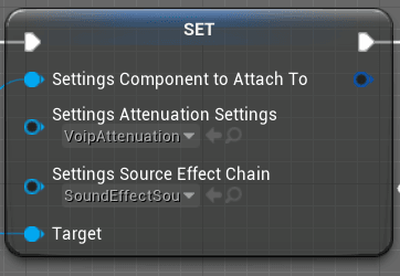 Voice chat audio settings
