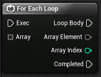 For each loop