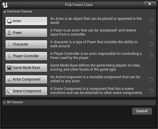 Parent and Child Blueprints in Unreal Engine 4 - Couch Learn