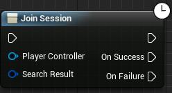 Join session node
