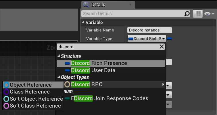 Creating the DiscordRPC object variable.