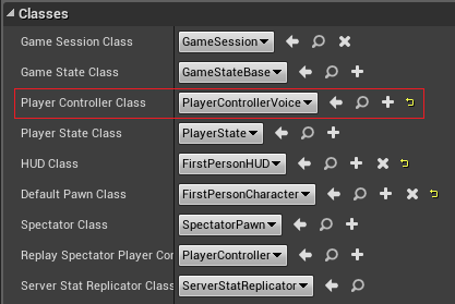 Adding the player controller to the game mode