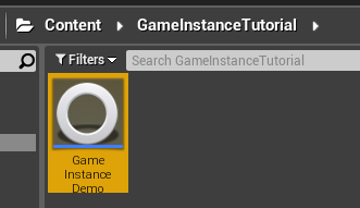 Renaming your new game instance class