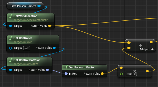 The universal setup for all first person line traces