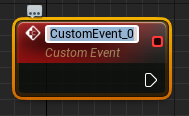 Naming the newly created custom event