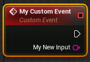 finished custom event